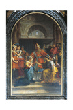 Marriage of Virgin, 1822 Giclee Print by Jean-Baptiste Joseph Wicar