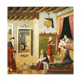 Nativity of Virgin, 1504-1508 Giclee Print by Vittore Carpaccio