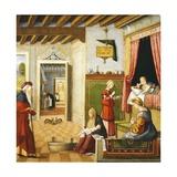 Nativity of Virgin, 1504-1508 Giclee Print by Vittore Carpaccio