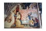 St. John Evangelist Resuscitating Drusiana Giclee Print by Taddeo Gaddi