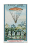 Experimenting with Parachuting at Parc Monceau by Andre-Jacques Garnerin Giclee Print