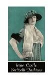 Advertisement for Irene Castle Corticelli Fashions, 1925 Giclee Print