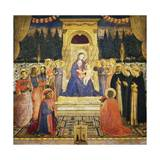 San Marco Altarpiece, 1438-43 Giclee Print by  Fra Angelico