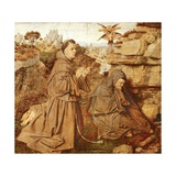 St Francis Receiving Stigmata, 1432 Giclee Print by  Jan van Eyck