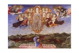 Predella of the Assumption of the Virgin Giclee Print by Benvenuto Di Giovanni