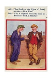 Two Men in a Pub Complaining About the Price of Beer Giclee Print
