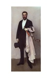 Portrait of Theodore Duret, 1883 Giclee Print by James McNeill Whistler