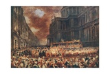 First State Visit of Queen Victoria to the City of London, 1837 Giclee Print by Sir George Hayter