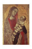 Madonna and Child, 1320-1330 Giclee Print by Ambrogio Lorenzetti