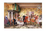 A Convivial Meeting of the Brewer's Corporation, Antwerp Giclee Print by Louis Haghe