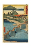 Italy, Genoa, the Kintai Bridge in Suho Giclee Print by Ando Hiroshige