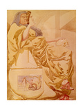 Sketch to Illustrate the Passions - Deceit or Duplicity, 1854 Giclee Print by Richard Dadd