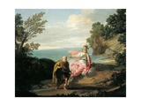 Ulysses Transformed by Athena into Beggar, 1775 Giclee Print by Giuseppe Bottani