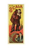 Reproduction of a Poster Advertising 'Mevisto', at La Scala, 1891 Giclee Print by Maximilien Luce