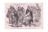 Meeting of Edmund Ironsides and Canute on the Island of Olney Giclee Print by Francois Edouard Zier