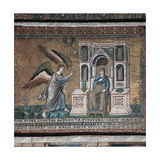 Stories of the Virgin Mary: Annunciation, 1273 - 1308 Giclee Print by Pietro Cavallini