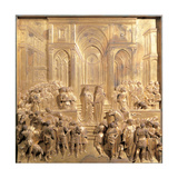 The Meeting of King Solomon and the Queen of Sheba, 1425 - 1452 Giclee Print by Lorenzo Ghiberti