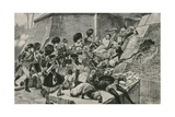 The British Troops Storm Seringapatan, the Capital of Sultan Tippu Giclee Print by Richard Caton Woodville II