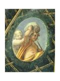Ovate with Cherubs Giclee Print by Antonio Allegri Da Correggio