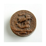 Maquette for the Stamp of the O.W. Paper Art Company Ltd Giclee Print by Alfred Gilbert