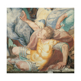 Oratory of the Gonfalone: Saul on the Road to Damascus Giclee Print by Giovanni Battista Crespi