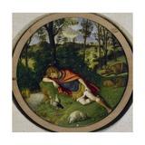 Sleeping Endymion Giclee Print by Giovanni Battista Cima Da Conegliano