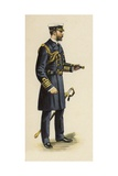 The Duke of Cornwall and York During His Naval Service, 1892 Giclee Print by Henry Payne