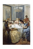 Parisian Ladies of Second Empire, 1886 Giclee Print by Albert Lynch
