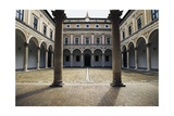 Courtyard of Honour, Ducal Palace, 15th Century Giclee Print by Luciano Laurana