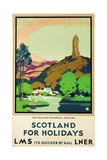 Scotland for Holidays, Poster Advertising British Railways Giclee Print