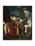 St Florian Taking Leave of the Monastery, 1530 Giclee Print by Albrecht Altdorfer