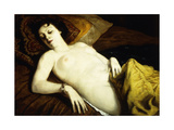 Sleeping Nude with Bracelet; Nu Couche Au Bracelet, 1930 Giclee Print by Emile Bernard