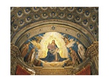 Redeemer in Glory, Fresco Giclee Print by Boccaccio Boccaccino