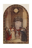 Opening of the Royal Exchange by Queen Victoria, London, 1844 Giclee Print by Robert Walker Macbeth