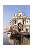 Scuola Grandi Di San Marco and Campo San Giovanni E Paolo, Venice Giclee Print by Martin Rico y Ortega
