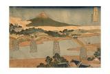 Kintai Bridge, Suwo Province, 1827-1830 Giclee Print by Katsushika Hokusai
