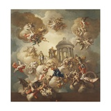 The Glory of the Princes, 1775 Giclee Print by Francesco de Mura