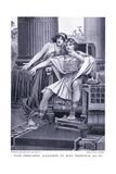 Thais Persuading Alexander to Burn Persepolis 330 Bc Giclee Print by Herbert Gandy