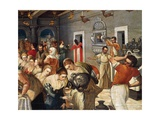 Marriage of Cana Giclee Print by Michael Damaskenos
