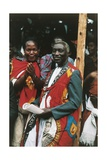Festivities Reminiscent of the Coronation of Kabaka Giclee Print