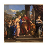 Caesar Giving Cleopatra the Throne of Egypt, C.1637 Giclee Print by Pietro da Cortona