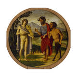 Contest Between Apollo and Marsyas Giclee Print by Cima da Conegliano