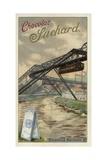 Suspension Railway Between Elberfeld and Barmen, Germany Giclee Print