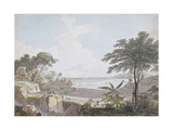 View of the Canton River, Near Whampoa, China, C.1785-94 Giclee Print by Thomas Daniell