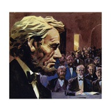 Lincoln Was Elected to the State Legislature of Illinois in 1834 Giclee Print