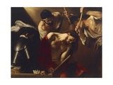 The Crowning with Thorns Giclee Print by  Caravaggio
