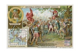 The Herulians Proclaim their Chief Odoacer King of Italy, 476 Giclee Print