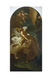 The Ecstasy of St Francis Giclee Print by Giovanni Battista Piazzetta