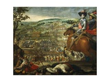 Victory of Fleurus, 20 August, 1622 Giclee Print by Vicente Carducho