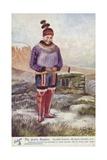 The Arctic Regions - Danish Eskimo Woman, Greenland Giclee Print